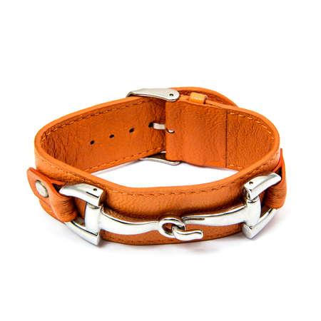 Fashion Bracelet isolated on white background Stock Photo