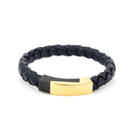 Fashion male bracelet isolated on white background