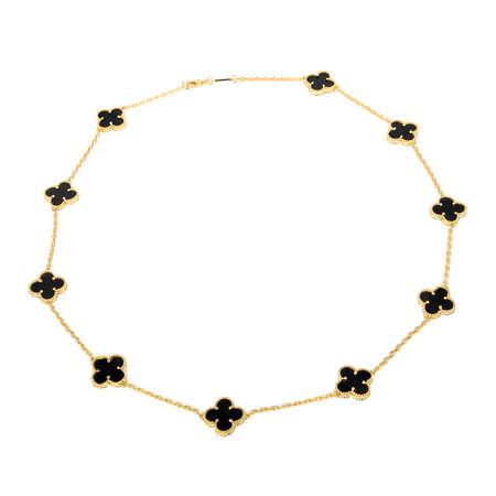 Golden pendant isolated on white background Reklamní fotografie