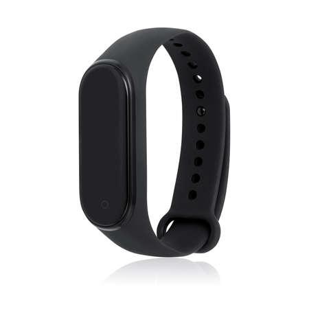 Fitness bracelet isolated on white background