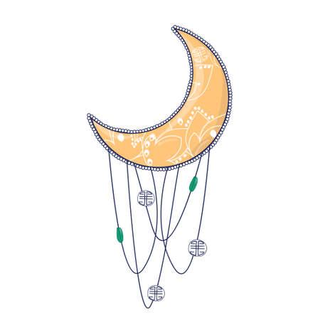 Madala Spirale fraktale Clip-Art-Vektor-Zeichnung-Illustration Vektorgrafik
