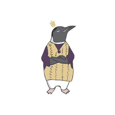 Penguin clothing the character vector