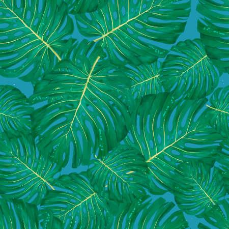 Marco exótico acuarela con hojas tropicales, flores y tucán para boda, invitación, tarjeta de cumpleaños. Colores de verano de illustrarion aislado, diseño de marco vertical color coral vivo. Foto de archivo