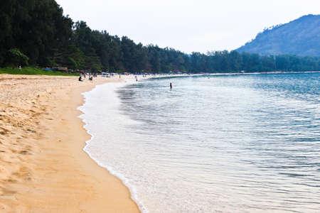 Naiyang beach overview photo