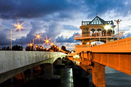 sarasin bridge Stock Photo - 11260976