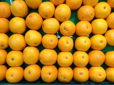 dozen: A dozen of orange Stock Photo