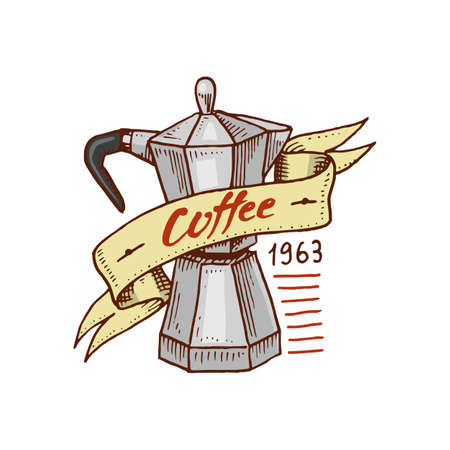 Coffee logo vector illustration