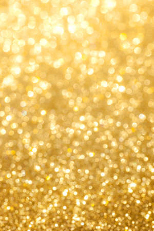 lens flare: glittering golden background
