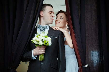 A beautiful bride and groom Stock Photo - 11267824