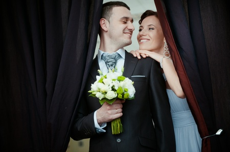 A beautiful bride and groom Stock Photo - 11267816
