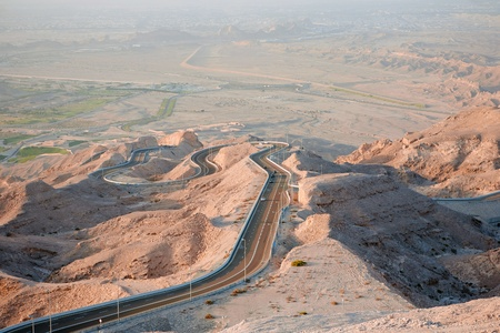 Jebel Hafeet Road  United Arab Emirates