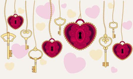 valentinas: valentinas. Vector illustration.
