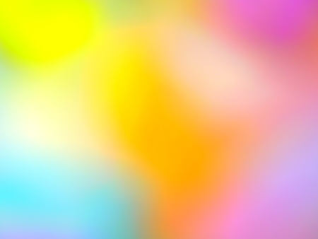 A Close up Image of Multi Coloured Gradient Light Showing a Colour Effect of Cloud Mist and Fog Stock Photo