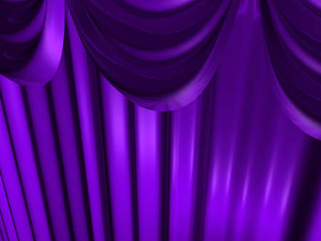 Violet beautiful curtains. Beautiful background.
