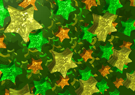 abstract background with plenty of stars Stock Photo