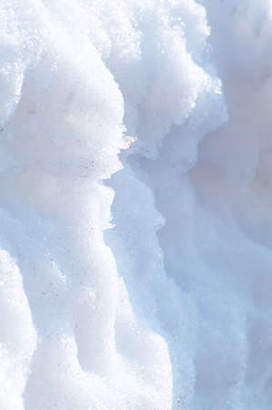 Snow closeup. Beautiful backdrop to the theme of winter.