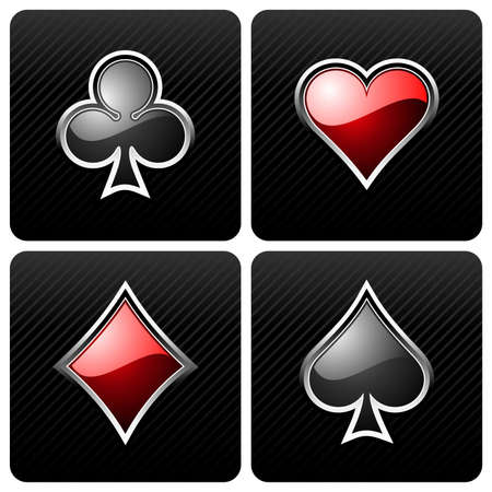 roulette game:  gambling illustration with casino elements