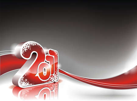 Happy New Year 2011 design Zdjęcie Seryjne - 7997552