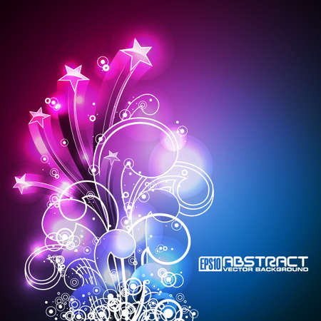 Abstract   shiny background. Vector