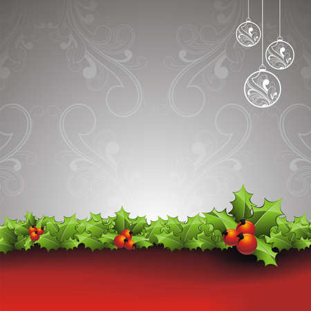 holliday: Vector Holliday background with Christmas design. Illustration