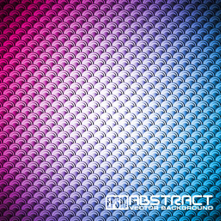 Abstract shiny background with fish scale Stock Vector - 15171451