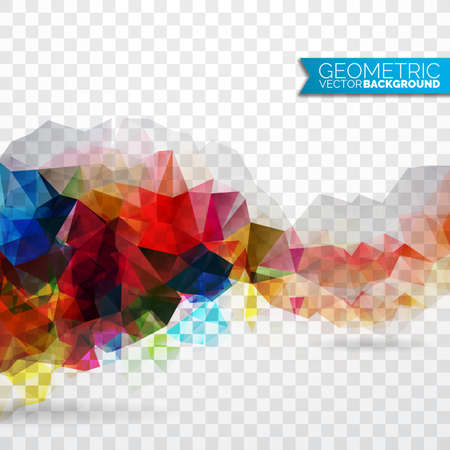 texture: Vector geometric triangles background. Abstract polygonal design. Illustration