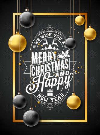 Buon Natale illustrazione. Archivio Fotografico - 87354308