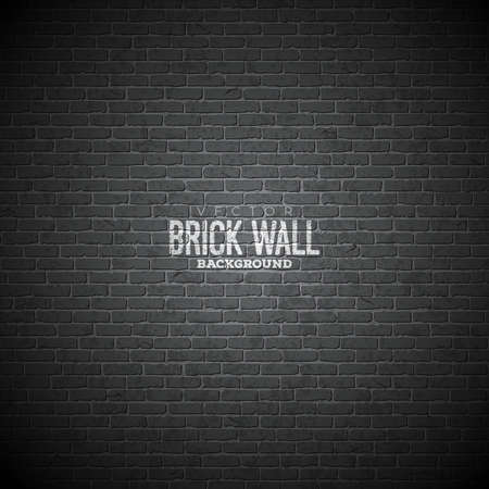 Vector brick wall background. Texture pattern illustraton for your design