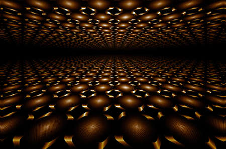 sweetmeat:  Chocolate horizon, illustration, abstract, computer-generated, fractal art, high detail,
