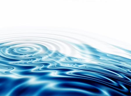 illustration of crystal clear water ripples,