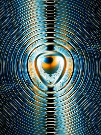 magnetic: Energy background, fractal magnetic field lines