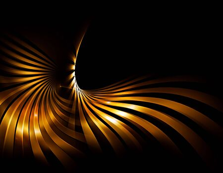 golden rays  shining brightly, abstract background