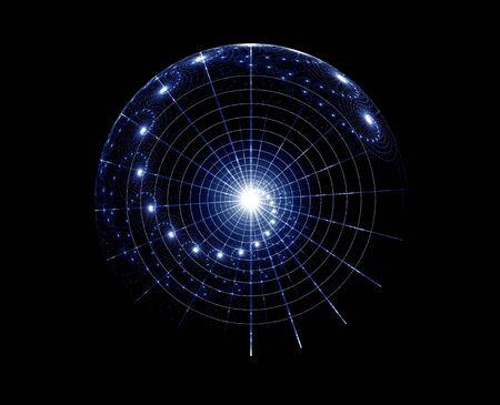 espacio de fantasía, imaginarias estrellas gráfico, resumen de antecedentes