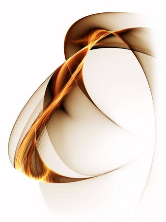 dynamic movement: Dynamic   abstract background, wavy lines on white background