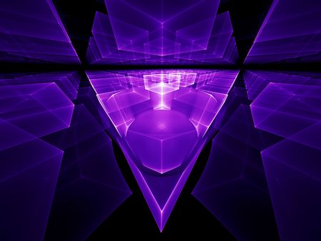 stellar: Ultra violet geometrical perspective stretching off to infinity