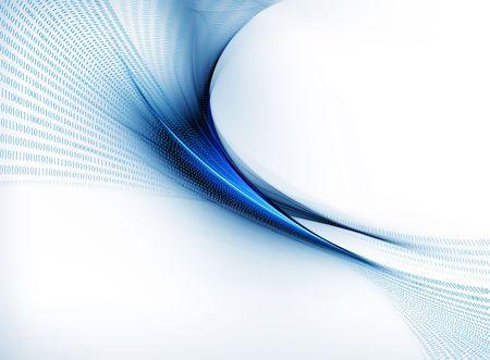Internet concept, binary code data flow, communication Stock fotó