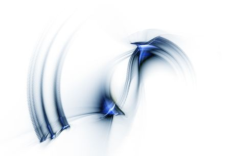 speedy: Blue circular speedy motion on white background, circle in rotation,
