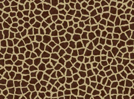 Giraffe Pelz, nahtlose Textur, Giraffe Muster, dekorative Hintergrund  Standard-Bild - 6557959