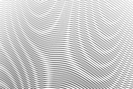 Monochrome abstract gradient background with moire effect. Can be used as design of books, websites, accessories for phones and tablet.Background for title, image for blog. Vector illustration.