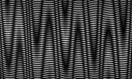 Geometric abstract background with straight zigzag lines and optical moire effect illusion. Perfect abstract background for saver, poster, banner. web.