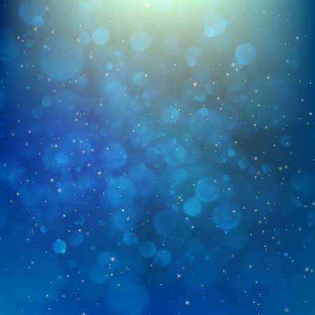 Abstract futuristic bokeh background.
