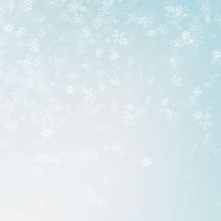 Festive winter blurred background.