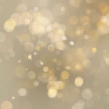 Christmas golden holiday abstract glitter defocused background with blurred bokeh. EPS 10 vector file Vettoriali