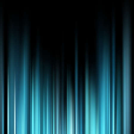 Abstract blue magic light rays over dark background. EPS 10 vector file included