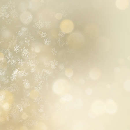 Christmas and New Year golden bokeh background. EPS 10 vector file Vector Illustratie