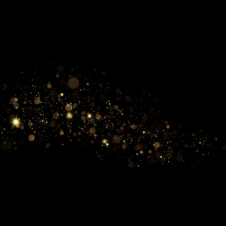 Christmas stardust trail effect. Çizim