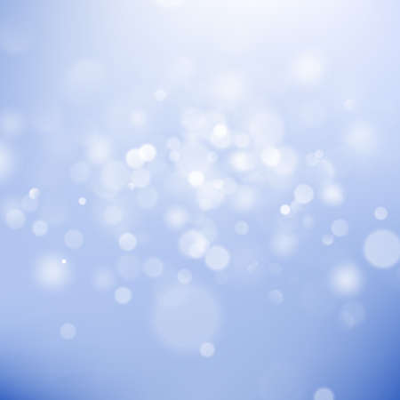 Christmas bokeh lights. Abstract bokeh background. Refocused blurred template. EPS 10 vector file