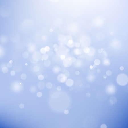 Lumières de bokeh de Noël. Arrière-plan flou abstrait. Modèle flou recentré. Fichier vectoriel EPS 10