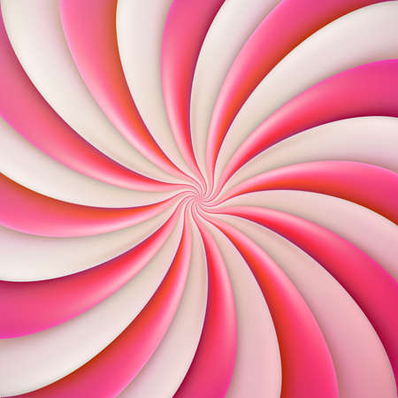 Round pink sweet candy template for banner, cover, brochure, poster, flyer, card, postcard EPS 10 vector file Векторная Иллюстрация