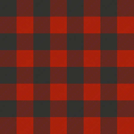 Lumberjack plaid seamless pattern texture. EPS 10